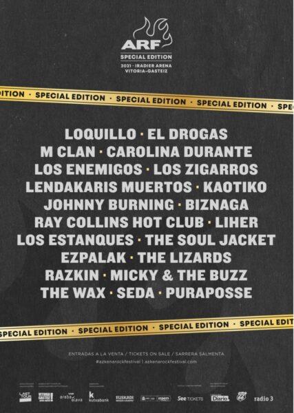 Azkena Rock Edición Especial Festival 2021