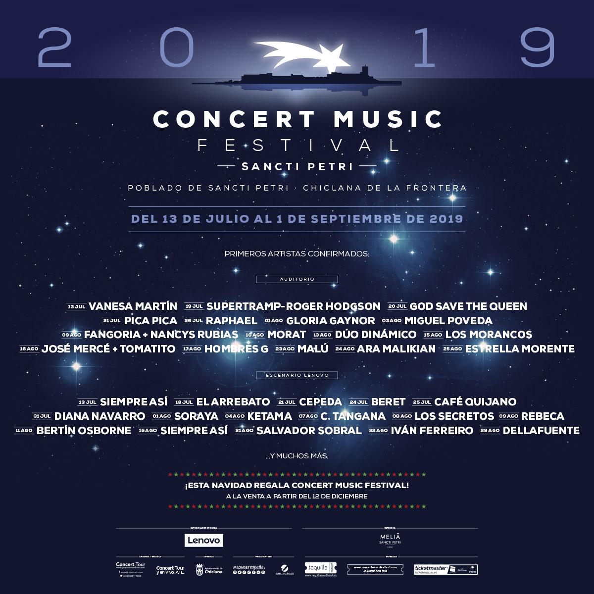 Sancti Petri Music Festival 2019