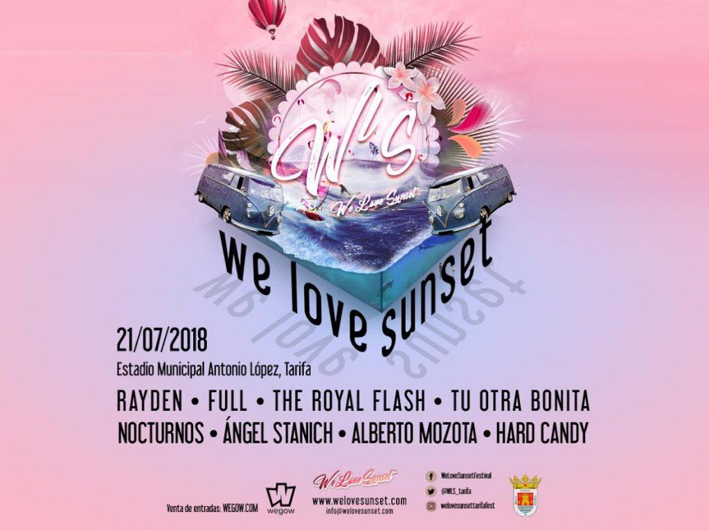 We Love Sunset Tarifa 2018