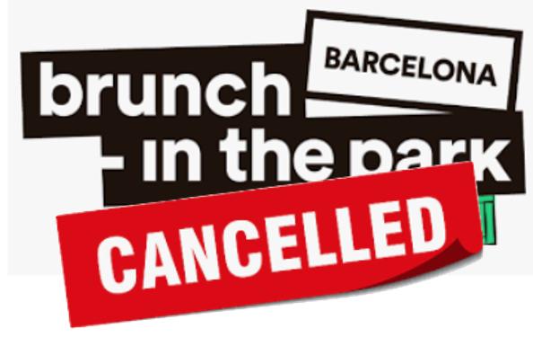 Brunch -In the Park (Brunch in the City) Barcelona 2020 -2021