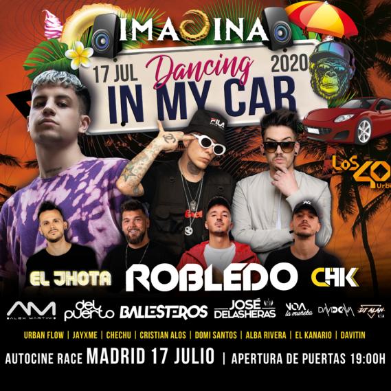 Imagina Dancing in my car 2020  Madrid