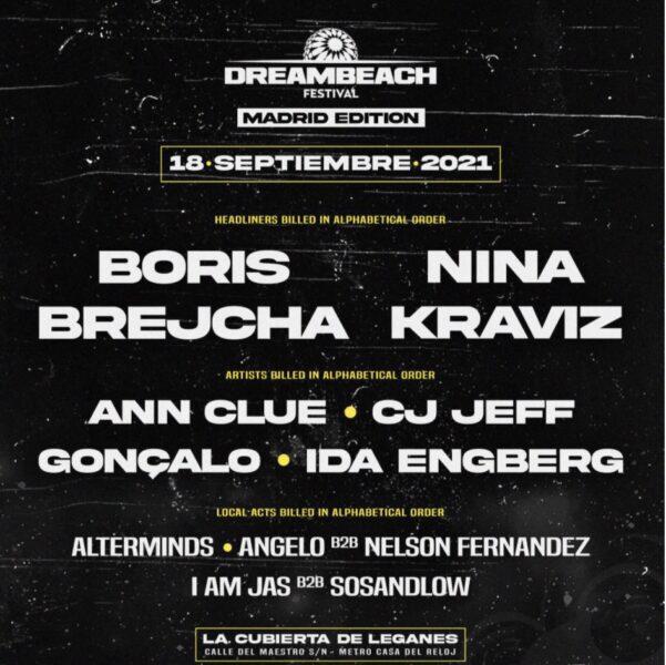 Dreambeach Madrid 2021